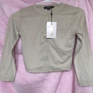 Long Sleeve Crop Henley